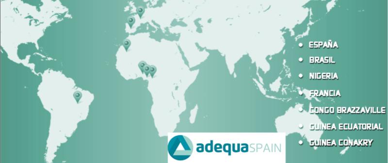 Áreas de Actuación de Adequa Spain